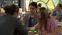 Tyler Brennan, Ben Kirk, Piper Willis in Neighbours Episode 7397
