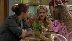 Tyler Brennan, Xanthe Canning, Piper Willis in Neighbours Episode 7397