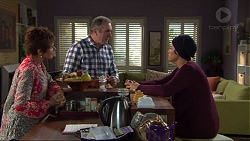 Susan Kennedy, Karl Kennedy, Sarah Beaumont in Neighbours Episode 7397