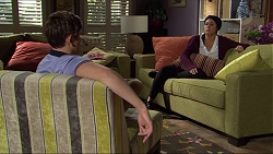 Angus Beaumont-Hannay, Sarah Beaumont in Neighbours Episode 7397