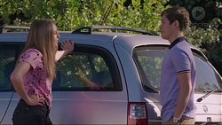 Piper Willis, Angus Beaumont-Hannay in Neighbours Episode 7397