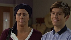 Sarah Beaumont, Angus Beaumont-Hannay in Neighbours Episode 7397