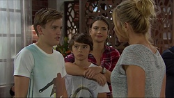 Charlie Hoyland, Jimmy Williams, Amy Williams, Steph Scully in Neighbours Episode 7398