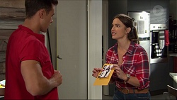 Aaron Brennan, Amy Williams in Neighbours Episode 7399