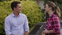 Jack Callaghan, Amy Williams in Neighbours Episode 7399