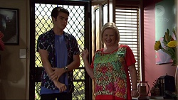 Ben Kirk, Sheila Canning in Neighbours Episode 7399