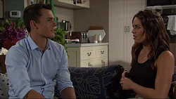 Jack Callaghan, Paige Novak in Neighbours Episode 7399