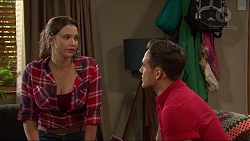 Amy Williams, Aaron Brennan in Neighbours Episode 7399