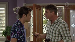 Ben Kirk, Gary Canning in Neighbours Episode 7399