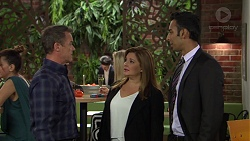 Paul Robinson, Terese Willis, Tom Quill in Neighbours Episode 7400