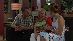 Gary Canning, Sheila Canning, Xanthe Canning in Neighbours Episode 7400