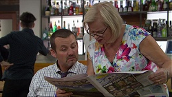 Toadie Rebecchi, Sheila Canning in Neighbours Episode 7401