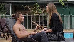 Tyler Brennan, Piper Willis in Neighbours Episode 7401