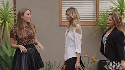 Piper Willis, Madison Robinson, Terese Willis in Neighbours Episode 7402
