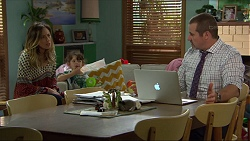 Sonya Mitchell, Nell Rebecchi, Toadie Rebecchi in Neighbours Episode 7402