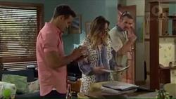 Aaron Brennan, Sonya Mitchell, Toadie Rebecchi in Neighbours Episode 7403