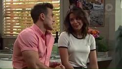 Aaron Brennan, Paige Novak in Neighbours Episode 7403