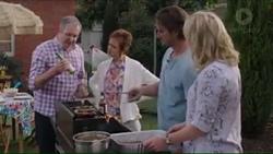 Karl Kennedy, Susan Kennedy, Brad Willis, Lauren Turner in Neighbours Episode 7403