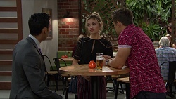 Tom Quill, Madison Robinson, Aaron Brennan in Neighbours Episode 7404