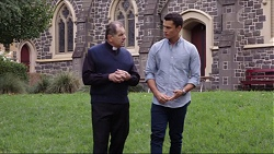 Father Vincent Guidotti, Jack Callahan in Neighbours Episode 7404