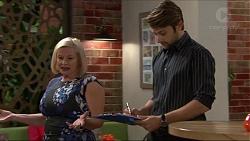 Sheila Canning, Ryan Prescott in Neighbours Episode 7405