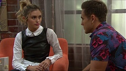 Madison Robinson, Aaron Brennan in Neighbours Episode 7405