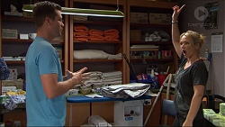 Mark Brennan, Steph Scully in Neighbours Episode 7405