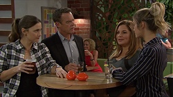 Amy Williams, Paul Robinson, Terese Willis, Madison Robinson in Neighbours Episode 7405