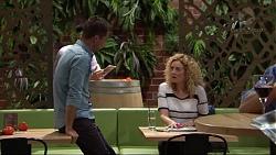 Mark Brennan, Belinda Bell in Neighbours Episode 7406