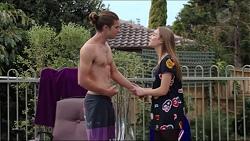 Tyler Brennan, Piper Willis in Neighbours Episode 7406