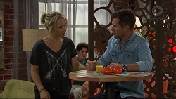 Steph Scully, Mark Brennan in Neighbours Episode 7406