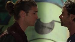 Tyler Brennan, Brad Willis in Neighbours Episode 7406