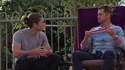 Mark Brennan, Tyler Brennan in Neighbours Episode 7406