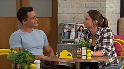 Jack Callaghan, Amy Williams in Neighbours Episode 7407