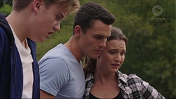 Charlie Hoyland, Jack Callaghan, Amy Williams in Neighbours Episode 7407