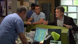 Karl Kennedy, Jack Callaghan, Paul Robinson in Neighbours Episode 7407