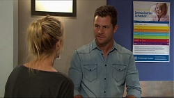 Mark Brennan, Steph Scully in Neighbours Episode 7407