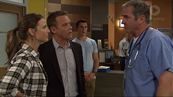 Amy Williams, Paul Robinson, Jack Callaghan, Karl Kennedy in Neighbours Episode 7407