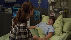 Amy Williams, Jimmy Williams in Neighbours Episode 7407