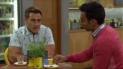 Aaron Brennan, Tom Quill in Neighbours Episode 7410