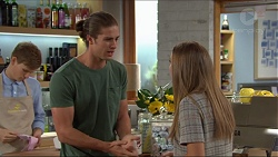 Tyler Brennan, Piper Willis in Neighbours Episode 7410