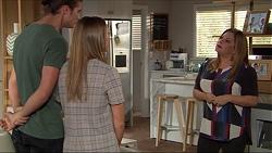 Tyler Brennan, Piper Willis, Terese Willis in Neighbours Episode 7410