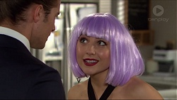 Tyler Brennan, Piper Willis in Neighbours Episode 7411