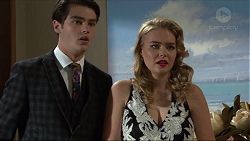 Ben Kirk, Xanthe Canning in Neighbours Episode 7411