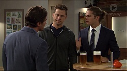 Brad Willis, Mark Brennan, Tyler Brennan in Neighbours Episode 7411