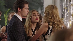 Ben Kirk, Piper Willis, Xanthe Canning in Neighbours Episode 7411