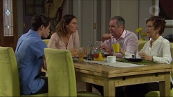 Ben Kirk, Elly Conway, Karl Kennedy, Susan Kennedy in Neighbours Episode 7412