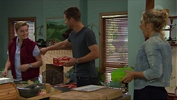 Charlie Hoyland, Mark Brennan, Steph Scully in Neighbours Episode 7412
