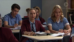 Ben Kirk, Piper Willis, Xanthe Canning in Neighbours Episode 7412