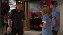 Gary Canning, Xanthe Canning, Ben Kirk in Neighbours Episode 7412